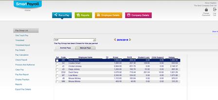 Smart Payroll Screenshot